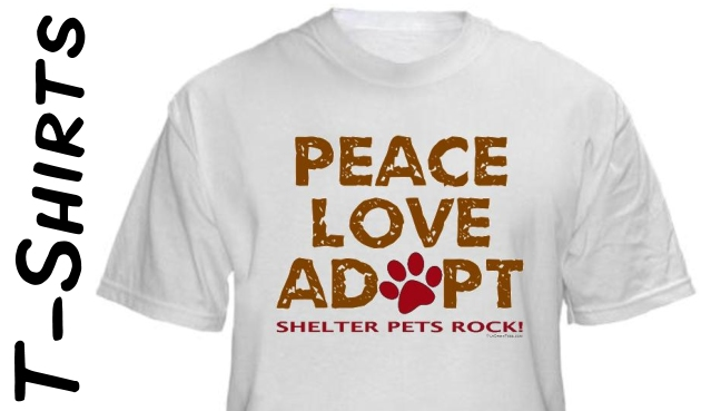 Shelter Pets Rock T-Shirt